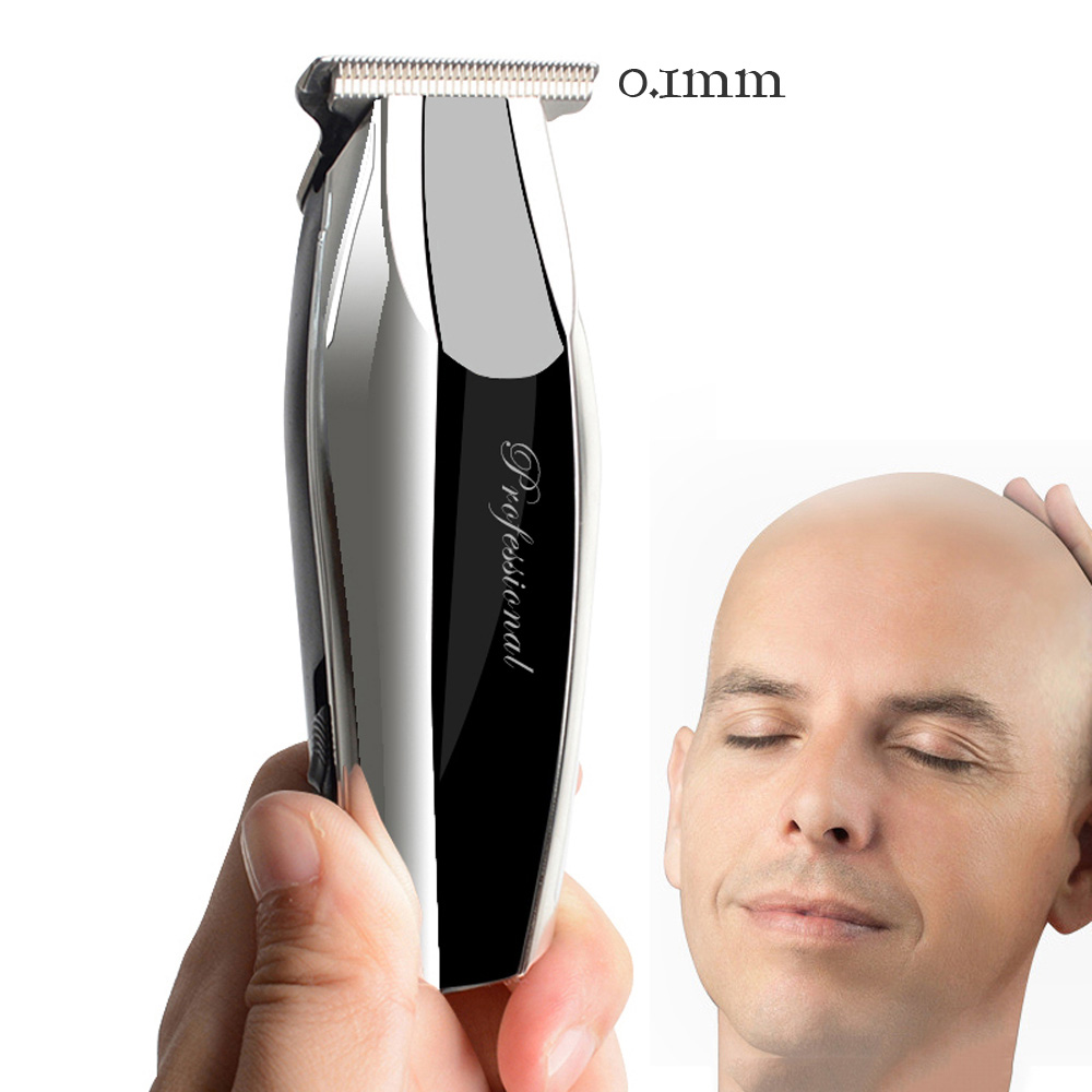 100-240V Electric Hair Trimmer Rechargeable Hair Clippers Cordless Bald Trimer Men's Hair Shaver Razor Two-speed Haircut Machine