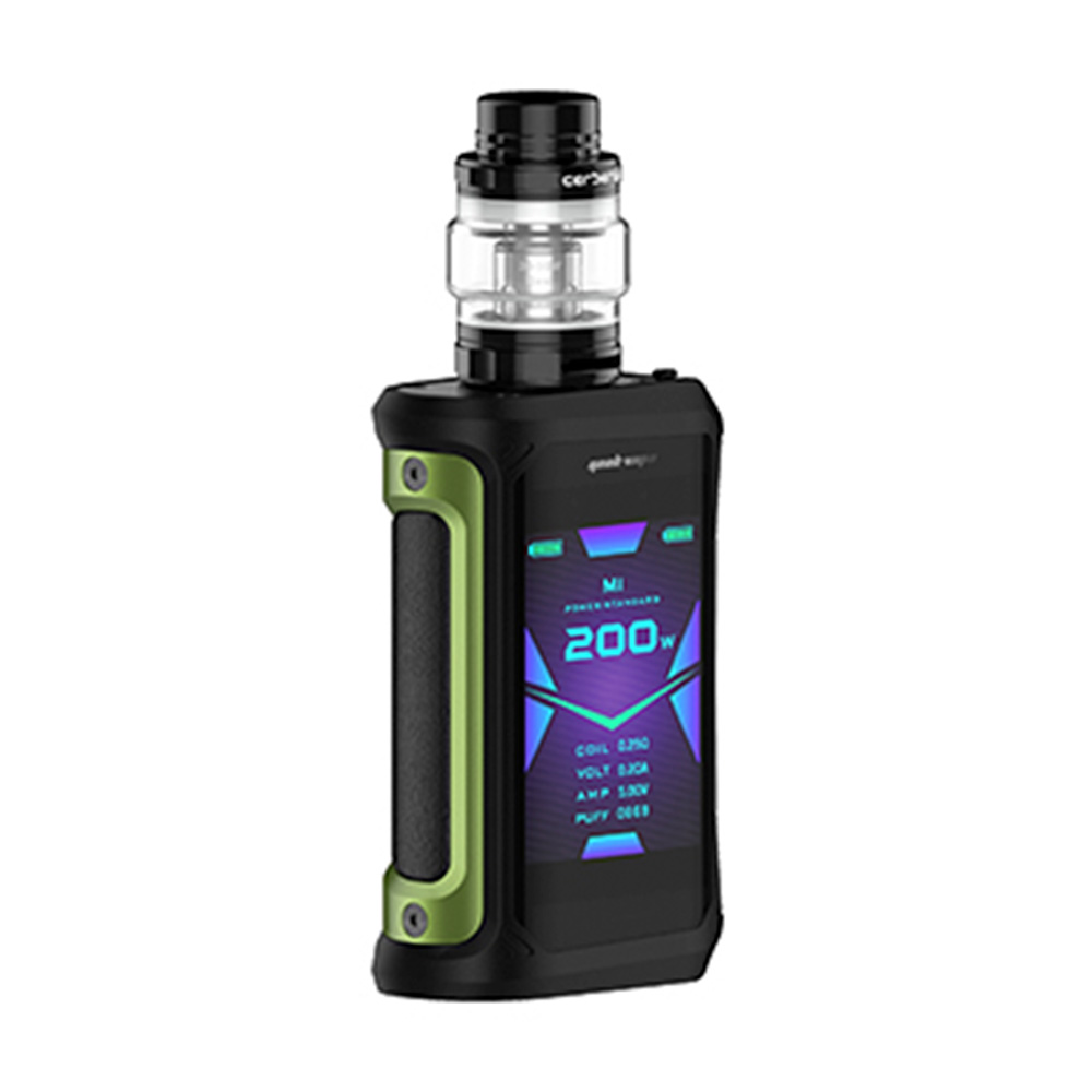 2pcs/set NEW Geekvape Aegis X 200W Vape Kit w/ 2.4 inch OLED Screen & AS2.0 Chipset E cig Box Mod Kit Vs Aegis Solo/ Legend/ GEN - 4