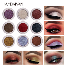 Fashion Makeup Eye Shadow Soft Shimmer Glitter Eyeshadow 12Color Waterproof Long-lasting Pigment Metallic Nude Silver