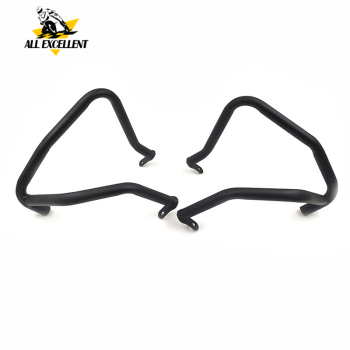 Dla BMW F650GS i Dakar G650GS i Sertao zderzak pasek awaryjny osłona chłodnicy Protector tanie i dobre opinie 0inch Carbon Steel Zderzaki Protection motorcycle For BMW For F650GS F650 G650GS 2019