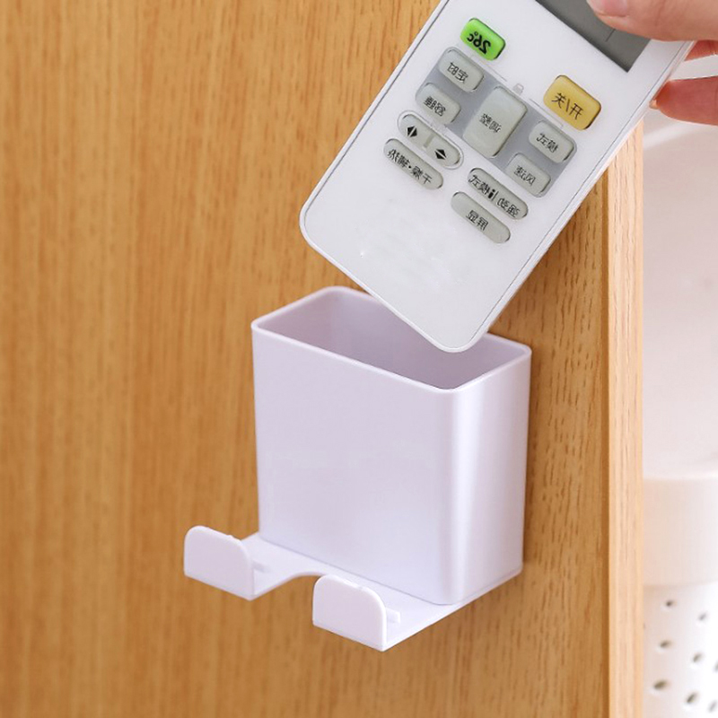 Портативный настенный держатель для телефона, настенный держатель для смартфона, настенный держатель для хранения, мобильный телефон, держ...