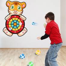 Присоска мяч цель родитель ребенок интерактивная игра игрушка