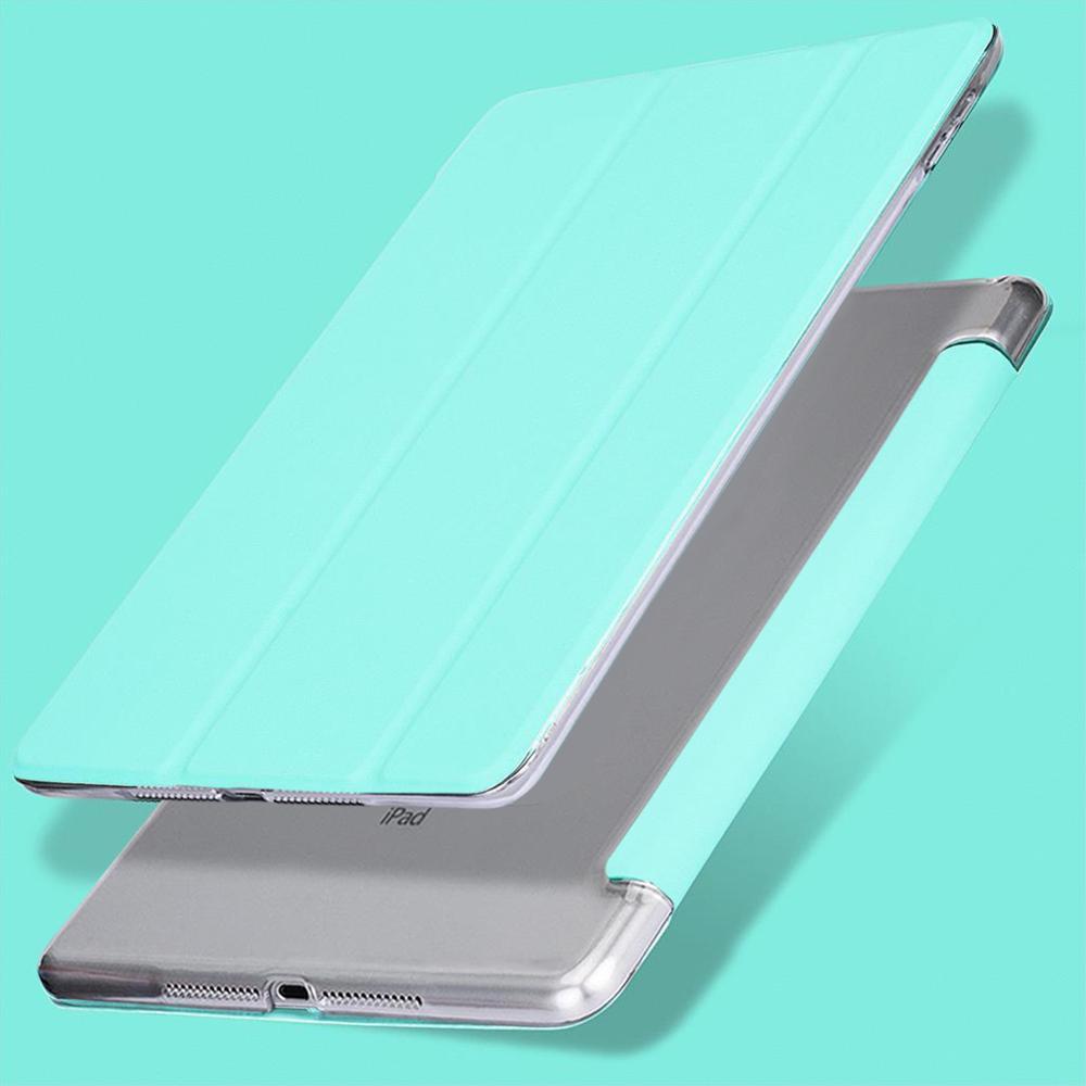 Mint Green Blue For iPad 10 2 2019 7th Gen A2200 A2198 A2232 Case Auto Sleep Wake Up Flip