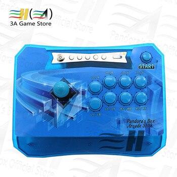 Pandora Box 6 1300 in 1 Wireless Arcade Sticks Controller 2 Players Joystick Arcade Control Panel can add 3000 games 3d Tekken
