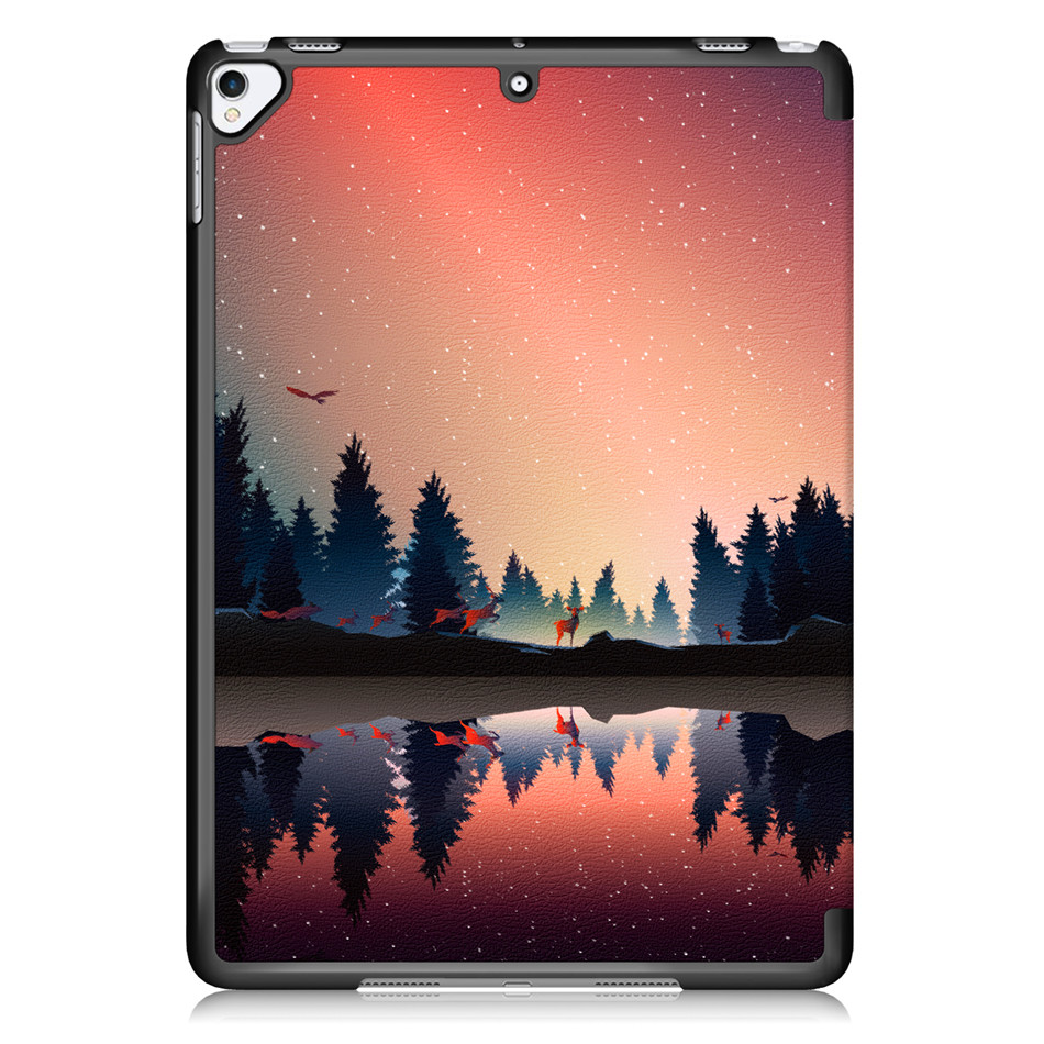 Case For iPad 10 2 2019 7th Generation A2200 A2198 A2232 Smart Cover Funda Magnetic Folding