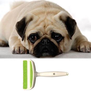 Mini cepillo para quitar el pelo de mascotas cepillo para quitar el pelo adhesivo cepillo portátil para el hogar