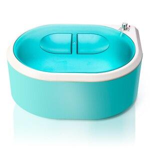 Image 1 - Parafina Hands Machine Hand Warmer for Paraffin Bath Foot Bath Wax Heater For Depilation Wax melt Hair Removel Device EU plug