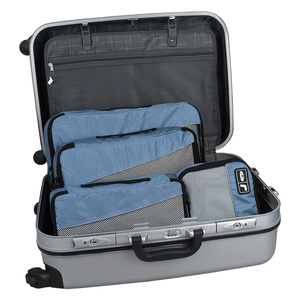 Image 2 - مجموعة من 4 قطع من الشرائط القابلة للتنفس من BAGSMART ، مجموعة مكعبات تنظيم حقيبة الظهر Reizen Bagage ، مقاس 23 بوصة ، حقيبة سفر