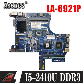 FRU:04W1489 FOR Lenovo Thinkpad Edge E420S Laptop Motherboard PILP1 LA-6921P I5-2410M DDR3 100% Fully Tested image