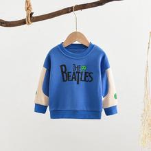 Toddler Boys Baby bluzy wiosenne jesienne ubrania t-shirt z literami dla niemowląt odzież chłopięca topy dziecięca odzież wierzchnia tanie tanio Na co dzień COTTON Pasuje prawda na wymiar weź swój normalny rozmiar List REGULAR Unisex Pełna