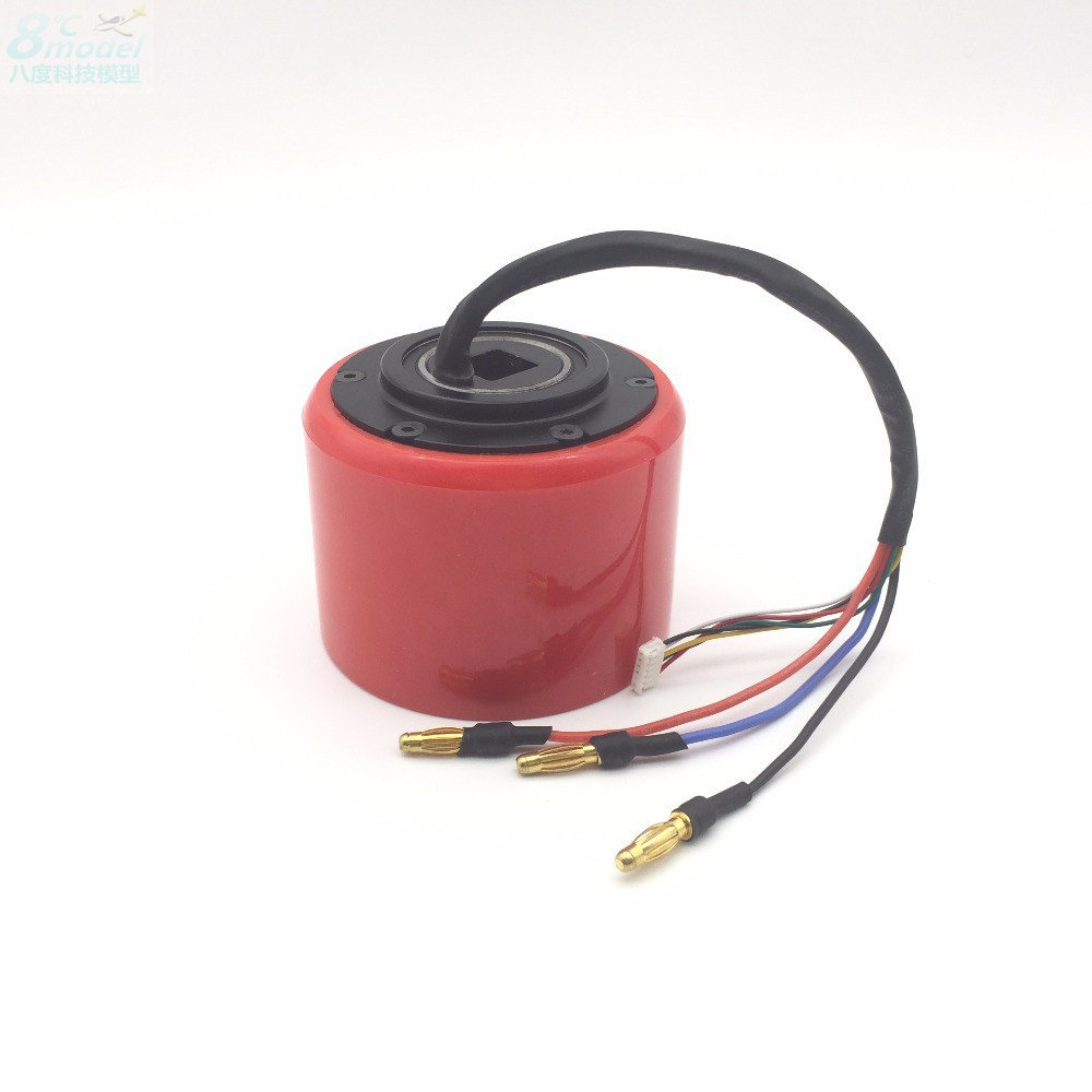 70 Wheel Hub Remote Control Scooter Brushless Motor With Hall Brushless Skateboard Balance Bicycle Motor With Pu Wheel