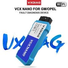 Vxdiag vcx nano para gm/opel obd2 código scanner ferramentas de diagnóstico automático para gds2 ecu programação diagnóstico do carro para chevrolet/saab