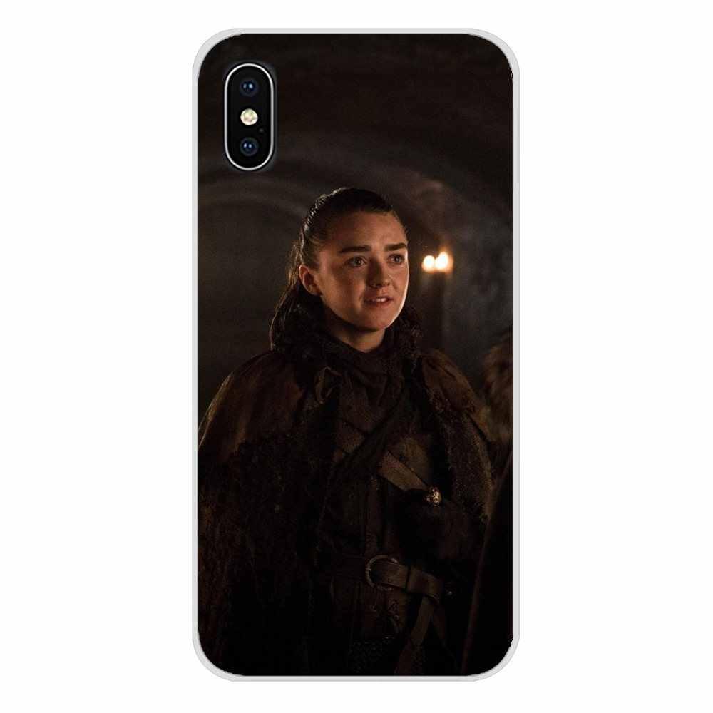 Aksesoris Ponsel Kasus Mencakup Game Of Thrones Arya Stark untuk Meizu M2 M3 M5 M6 Catatan M3S M6S M6T MX6 u20 PRO 5 6 Plus