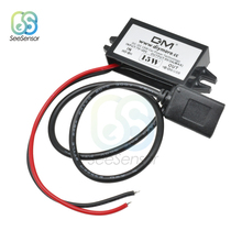 цена на DC/DC 12V to 5V 3A 15W Car Power Buck Converter Regulator Micro Mini USB Car Monitor Step Down Power Supply Module