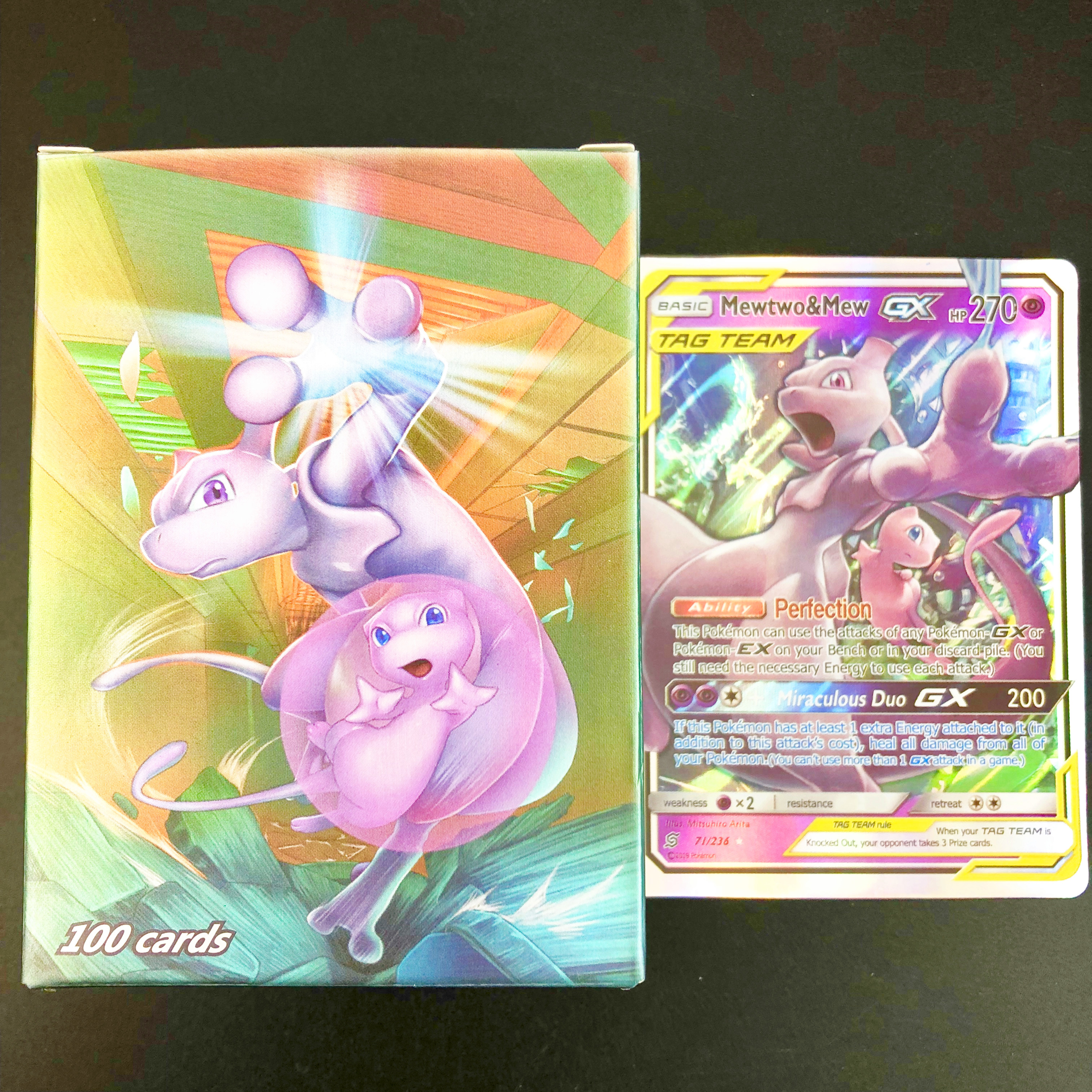 NEW TAG TEAM EX MEGA GX Trainer Shining Pokemon Cards Game Battle Carte Trading English  Cards Kids Toys Gifts