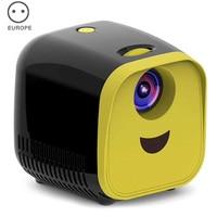Mini projektör akıllı taşınabilir 1080P tam yüksek çözünürlüklü LED film projektör ev sineması Projektör Aksesuarları    -