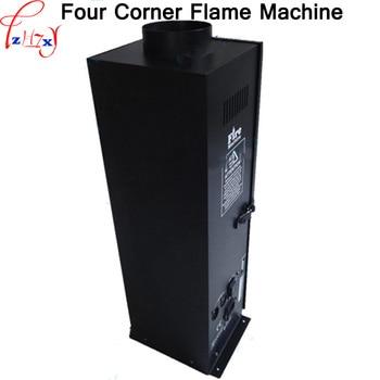 220V Four Corner Flame Machine Project Celebrates Wedding Performance Stage Effect DMX512 Four Corner Spray Lighter 1PC