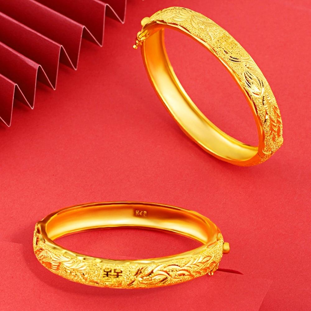 9K WHITE GOLD GF SILVER STARDUST CRYSTAL FANCY WEDDING BAND BANGLE BRACELET GIFT