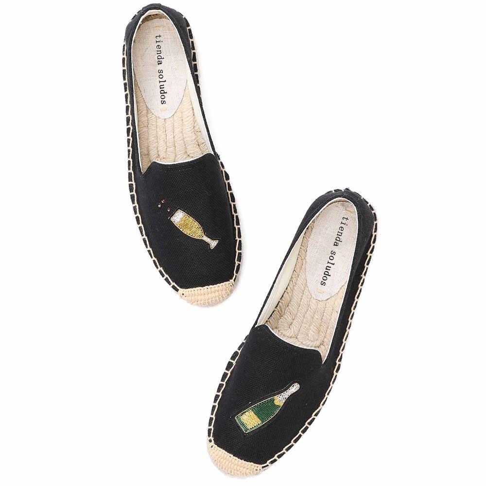 Espadrilles Women Flat Casual Shoes