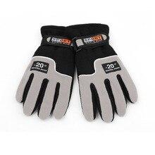 OUTAD зима спорт защита от ветра лыжи перчатки теплые верховая езда мотоцикл перчатки открытый полный палец ветрозащитный перчатки luva топ продажа