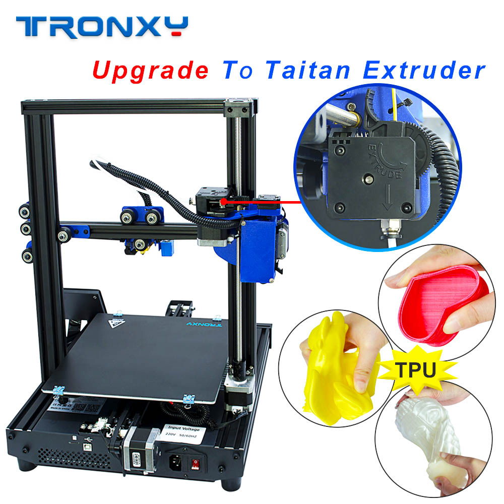 TRONXY 3D Printer XY-2 Pro Upgraded Rapid Heating Auto Leveling Resume Power Failure Printing Filament Run out Detector Titan