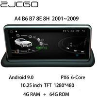 Car Multimedia Player Stereo GPS DVD Radio Navigation Android Screen Monitor MMI System for Audi A4 B6 B7 8E 8H 2001~2009