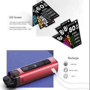 Image 4 - ADVKEN MX קוביית פתוח Pod ערכת סיגריות אלקטרוניות ערכת vape עט עם 4.5ml קיבולת 18650 1000mAh סוללה vaper ערכת
