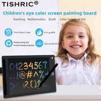 """TISHRIC 12 """"Pouces LCD Écriture Table pour Dessin Tampons/Panneau Écran Couleur Enfants Dessin Tablette Tablette Graphique Numérique pour Enfants Cadeau"""
