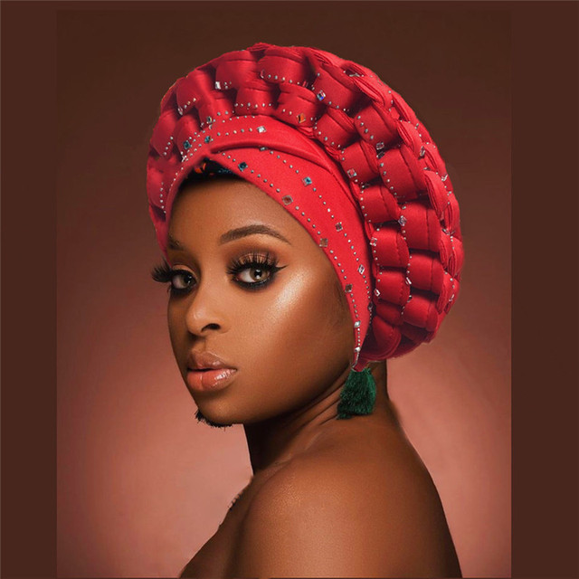 Sequins Turban Cap for Women  Headties 2