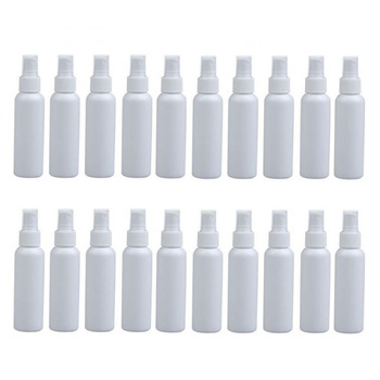20Pcs 100Ml Refillable Mini Perfume Spray Bottle Empty Cosmetic Containers Plastic Atomizer Portable Travel Perfume Bottle aluminum spray bottle portable mini perfume bottles empty refillable cosmetic sprayer atomizer 30ml 50ml 100ml 120ml 150ml 250ml