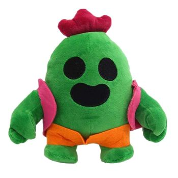 Cactus Plush Doll 20cm Animation Game Spike Stuffed Model Soft Cactu Children baby birthday gift Anime Toy
