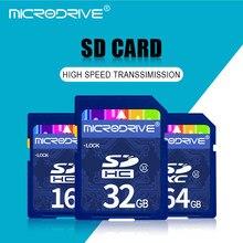 Classe alta velocidade 10 32GB cartão SD cartao de memoria 128GB GB 32 64GB GB 8 16GB pendrive 4GB C6 carte sd Cartão de Memória sd para a câmera