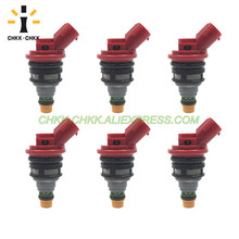 CHKK-CHKK Car Accessory 16611-AA141 Renovation fuel injector for SUBARU SVX 1992~1997 3.3L H6