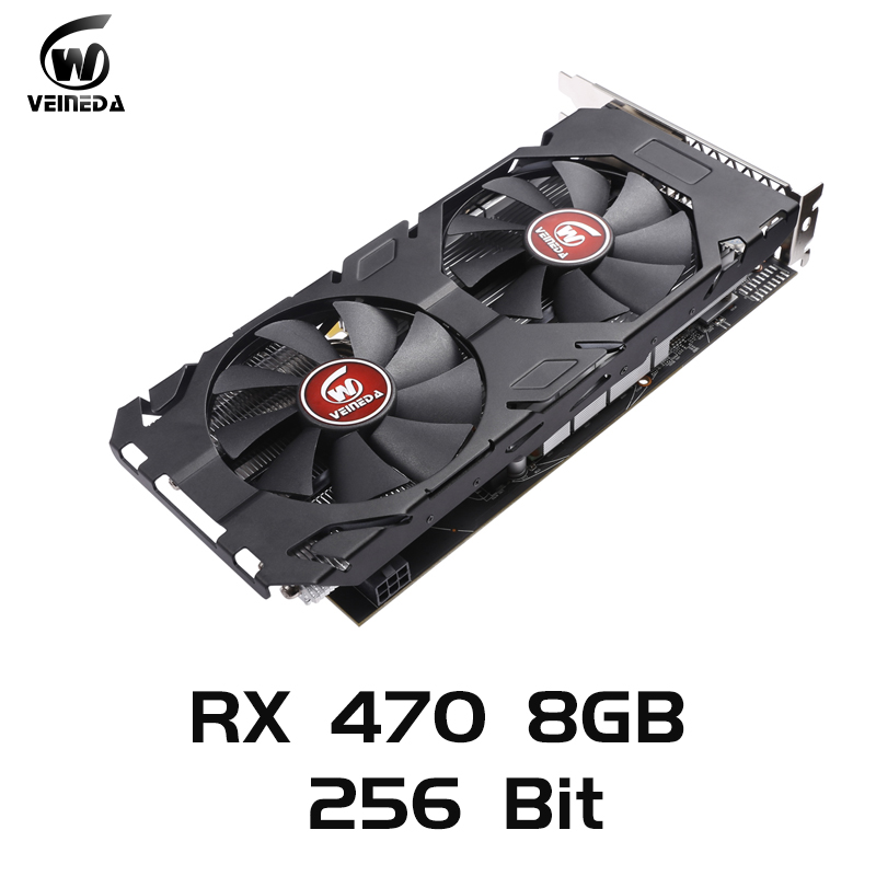 <font><b>Graphics</b></font> <font><b>card</b></font> 100% Original Radeon <font><b>RX</b></font> <font><b>470</b></font> 256bit 8GB GDRR5 DP HDMI DVI Ready for AMD Video <font><b>Card</b></font> not mining Compatible <font><b>rx</b></font> 570 8gb image
