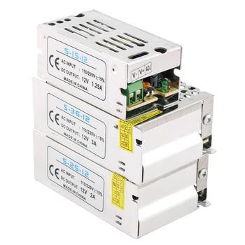 цена на AC DC 5V 12V 24V 36V Switching Power Supply 1A-60A 220V To 12V 5V 24V Power Supply Transformers 3V 15V 18V 48V 5 12 24 V Volt