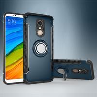 Für Xiaomi Redmi 5 Plus Fall Anmerkung 5 Pro 5A Prime Hybrid Silikon Rüstung Metall Finger Ring Halter Xiomi Xiaomi redmi 6 Telefon Abdeckung