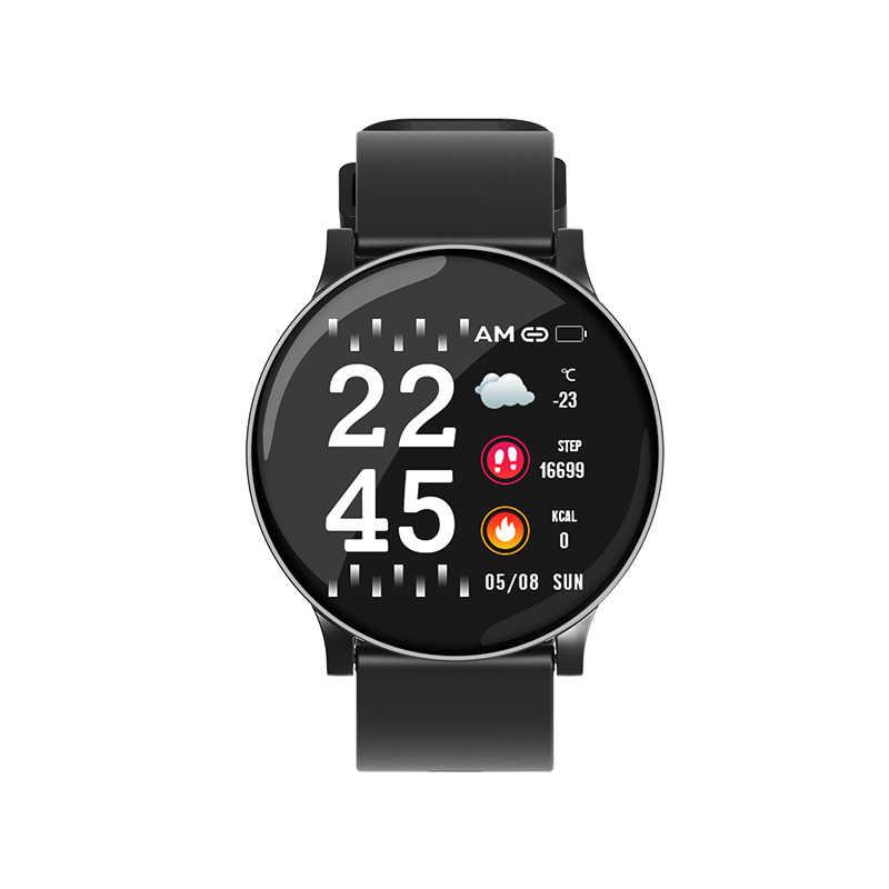 Montre intelligente hommes étanche pression artérielle podomètre Fitness Bracelet moniteur de fréquence cardiaque Smartwatch femmes pour IOS Android téléphone