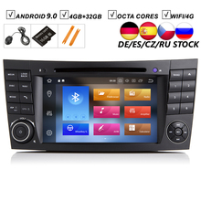 7''Car Android 9.0 Car DVD GPS Player For Mercedes Benz E-Class W211 E200 E220 E240 E270 E280 4GB RAM 64GB ROM Radio BT Wifi DAB 2g ram 16g rom android gps navigator for mercedes benz e class c207 coupe a207 w207 2010 2015 e200 250