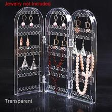 Creative Screen Necklace Jewelry Rack Plastic Earrings Earring Display Stand Large Capacity Holder Hanger