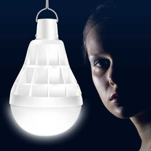 USB перезаряжаемая лампочка 12 Вт, лампа для палатки, наружная аварийная лампа, рабочий свет, фонарик для кемпинга, портативный, 14 светодиодный