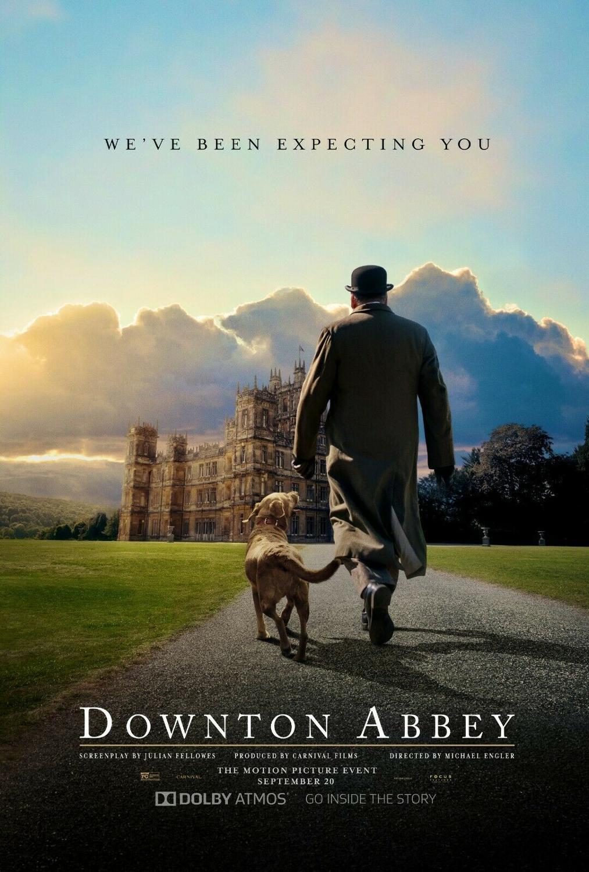 Downton Abbey Michael Engler Movie Art Silk Canvas Film Poster Print 24x36 inch