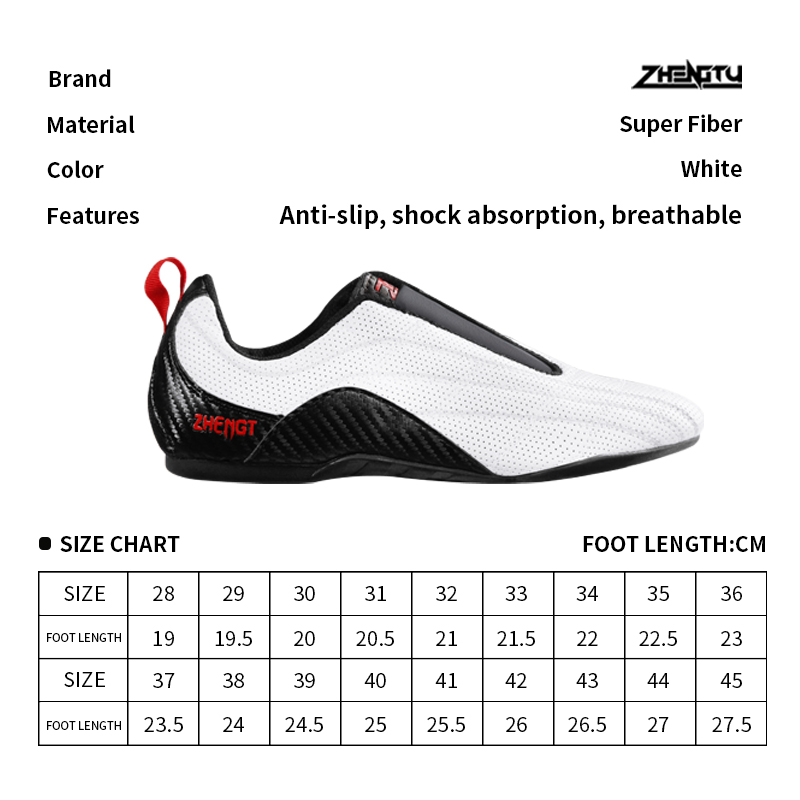 ZTTY Breathable Taekwondo Shoes Soft Kickboxing Training Sneakers Taichi Karate Martial Arts Wrestling Adults Men s