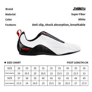 Image 5 - ZTTY baskets de boxe pour hommes, chaussures de Taekwondo, souples et respirantes, de formation, de Taichi, de karaté, darts martiaux et de lutte