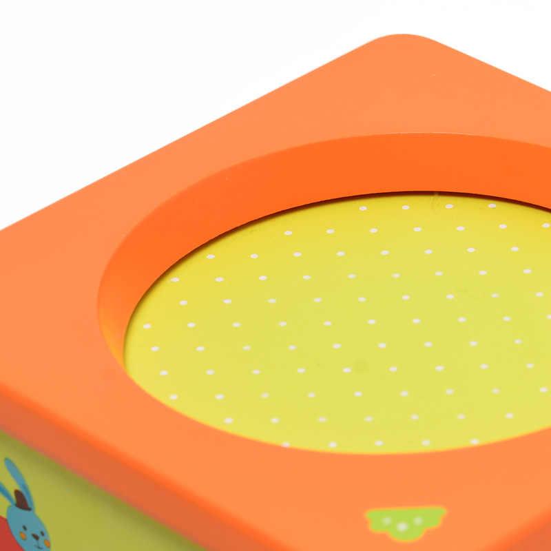 Mideer Music Box per Bambini di Legno di Music Box Giocattolo a Molla di Tipo Cartone Animato Leone Del Capretto di Compleanno Regalo di Natale Giocattoli per I Bambini> 3Y