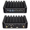 Мини-ПК RS232 I5 5200U 4200U I7 4500U 5500U I3 5005U дуальный Ethernet 2xhdmi Wi-Fi-Поддержка Линукс Windows безвентиляторный 4xUSB3.0 2xUSB2.0