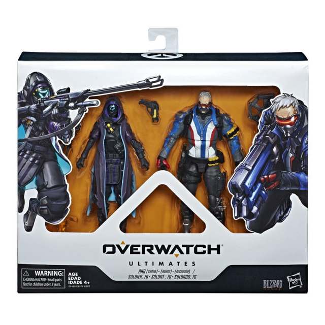 15cm Hasbro Overwatch Ana Amari Anime characters Action PVC Collection Model Toy Anime Figure Toys For Kids