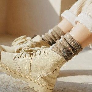 Осень-зима, новый стиль, японские милые носки, корейские женские носки в стиле хараджуку, милые плотные носки