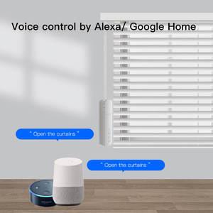 Image 2 - Zemismart新規更新チュウヤwifiローラーシェードドライバ内蔵バッテリーブラインドモータalexa googleアシスタント音声制御