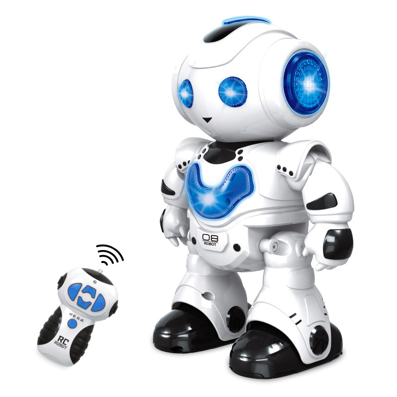 [Daily Life Wholesale] New Style Electric Music Dancing Robot Children Remote Control Smart Robot Toy