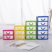 Многофункциональная настольная коробка пластиковый ящик для